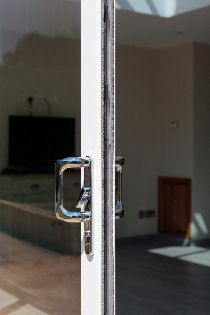 Smart Aluminium bi-folding doors epsom