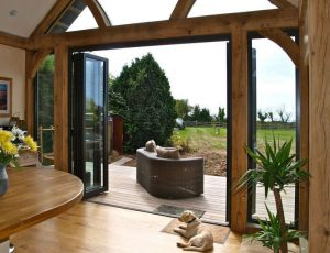 Aluminium Bi-folding Door quote surrey