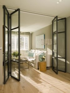 schuco internal bi-fold doors surrey