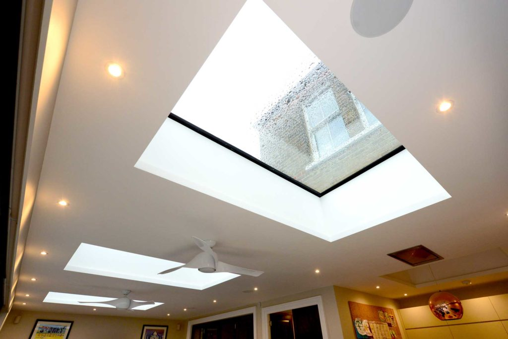 modern roof lights epsom surrey