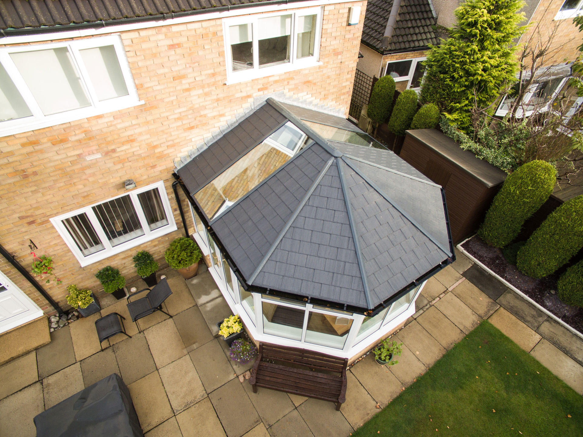 tiled conservatory roof surrey