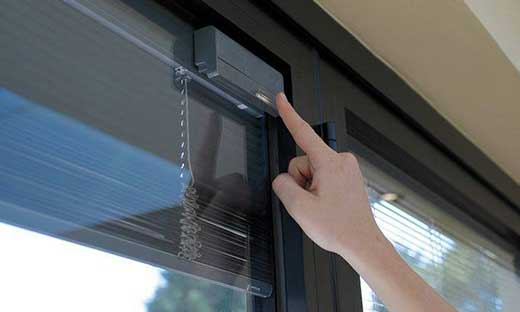 integral blinds in glass cost epsom surrey